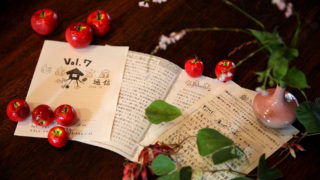蝶の通り道、おさんぽクッキー、文庫通信vol.7
